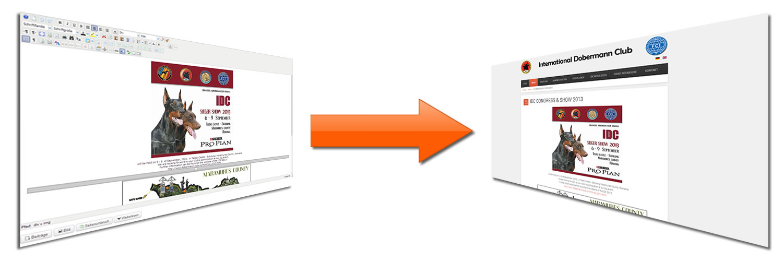Content Managemnt Systeme - Inhalte selbst verwalten