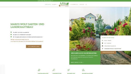 Marco Wolf | Garten- und Landschaftsbau